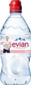 Evian 0,75l Sportcup - PET