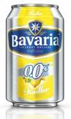 Bavaria nealko radler lemon 0,33l - plech