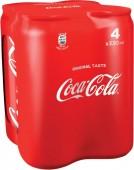 Coca cola 4 x 0,33l multipack - plech