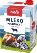 Tatra mléko polotučné 0,5l - 1,5%