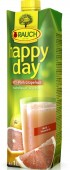 Rauch Happy day růžový grapefruit 100% 1l