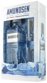Amundsen vodka Expedition 1911 - 0,5l + 2x sklo