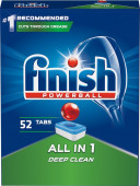 Finish Powerball All-in-1 - 52 ks