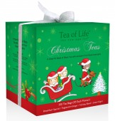 Tea of Life Holiday Box green 100 ks