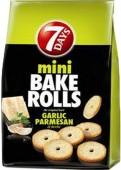 Bake Rolls mini česnek a parmezán 80g