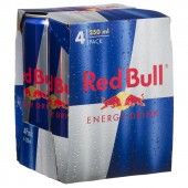 "Red Bull 0,25l plech ""4pack"""