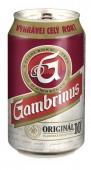 Gambrinus Originál 10 výčepní světlé 0,33l - plech