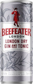 Beefeater & tonic 0.25l - plech