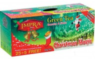 Impra Green Tea Orange and Spice 25+5x2g - Vánonoční edice