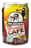 Mr. Brown caffé latte 0,24l plech