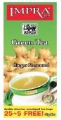 Impra Green Tea Ginger 25+5x2g