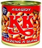 Arašídy KK solené 227g - plech