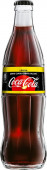 Coca cola ZERO citron 0,33l sklo - vratná lahev