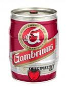 Gambrinus Originál 10 výčepní světlé 5l - soudek