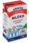 Jihočeské mléko trvanlivé plnotučné 3,5% 1l