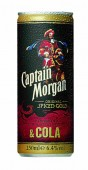 Captain Morgan Spice & Cola 0,25l plech