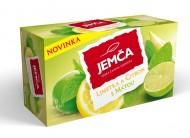 Jemča Limetka a citron s mátou 20x2g