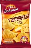 Bohemia chips Vroubkované sýr 70g