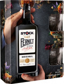 Fernet Stock 0,5l - kazeta 2x sklo