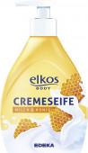 Tekuté mýdlo ELKOS - mléko&med 500ml