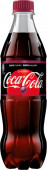 Coca cola ZERO cherry 0,5l - PET