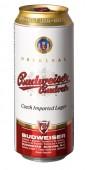 Budweiser Budvar světlý ležák 0,5l - plech