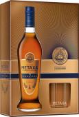 Metaxa 7* 0,7l kazeta 2 skleničky