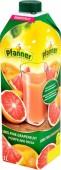 Pfanner Růžový grapefruit 100% 1l