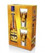 Metaxa 5* 0,7l kazeta 2 skleničky
