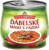 Ďábelské maso s fazolí Hamé 420g