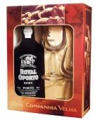 Royal Oporto Ruby 0,75l + 2 skleničky