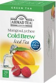 Ahmad Tea Cold Brew Green Mango & Lichee 20x2g