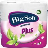 Toaletní papír Big Soft Plus 2vr. 4ks