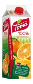 Toma pomeranč 100% 1l