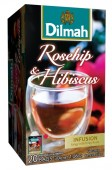 Dilmah bylinka Šípek - Ibišek 20x1,5g