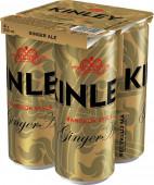 Kinley Ginger Ale 4 x 0,33l multipack - plech