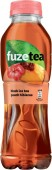 Fuze Tea Black Ice Tea Peach Hibiscus 0,5l - PET