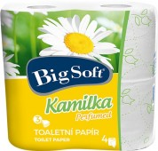 Toaletní papír Big Soft Kamilka 3vr. 4ks