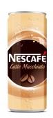 Nescafe ice late macchiato 0,25l - plech