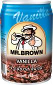 Mr. Brown vanilla 0,24l plech