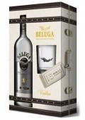 Beluga Vodka 0.7l kazeta + sklenička