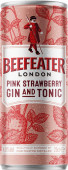 Beefeater pink & tonic 0.25l - plech