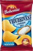 Bohemia chips Vroubkované s mořskou solí 70g