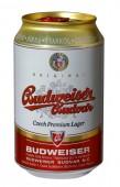 Budweiser Budvar světlý ležák 0,33l - plech