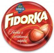 Fidorka hořká s čokoládovou náplní 30g