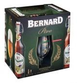 Bernard Sváteční ležák 0,5l - dárková kazeta + 2x sklo
