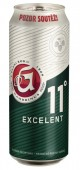 Gambrinus Excelent 11 světlé 0,5l - plech