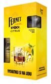 Fernet Stock citrus 0,5l - kazeta 2x sklo