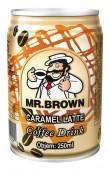 Mr. Brown Caramel latte 0,24l plech