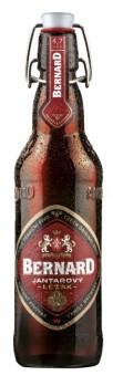 Bernard Jantarový ležák 0,5l - vratná lahev